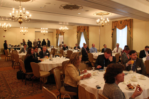 Guests of the Heidelberg networking-breakfast at the University Club of Washington D.C