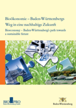 Cover of Bioeconomy - Baden-Württemberg's path towards a sustainable future